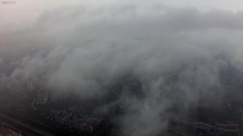 650米穿云航拍