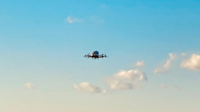 EHang Conducts First-Ever U.S. Trial Flight of Pilotless Air Taxi at North Carolina Transportation Summit