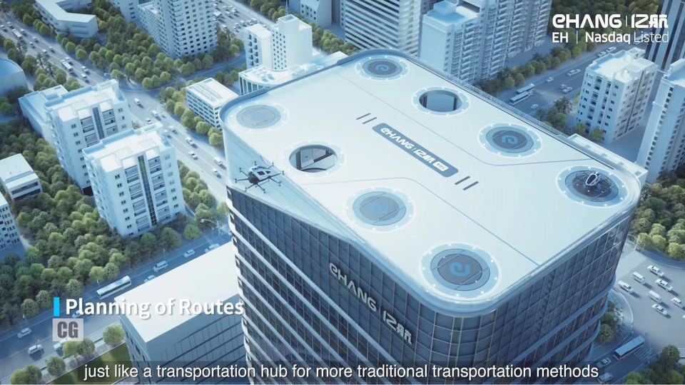 The Future of Transportation: EHang Urban Air Mobility System