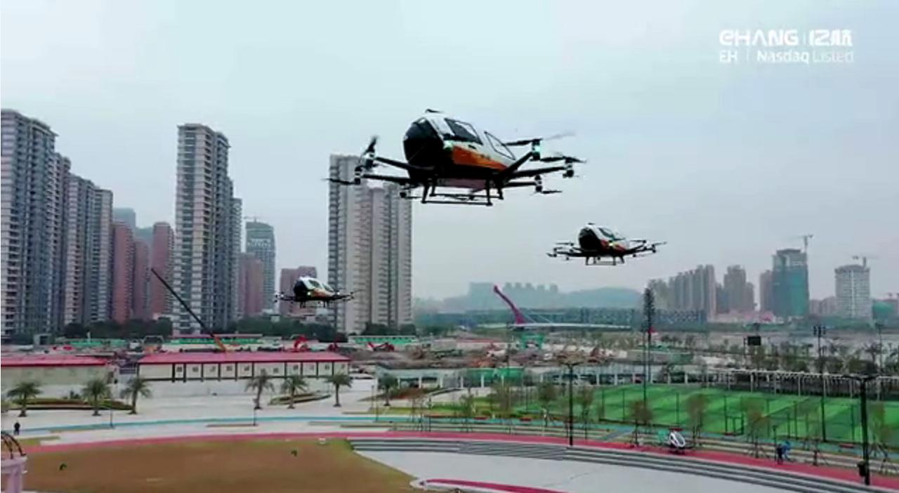 亿航智能将在珠海横琴开展自动驾驶空中交通服务